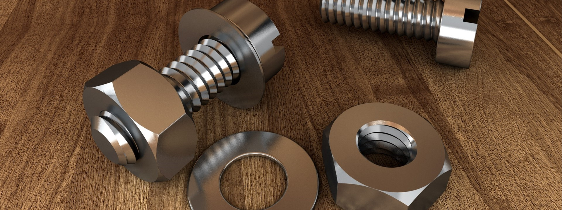 Nuts And Bolts That Were Shaped Using Metal Forming
