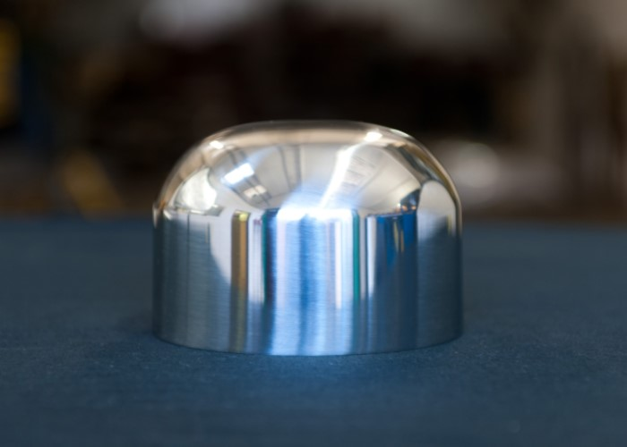Cap That Has Been Polished