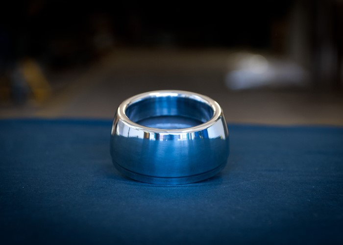 Metal Ring That Has Been Polished